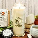 Resonance Candles Orange & Bergamot Fragrance Natural Wax Aroma Large Candle Torch