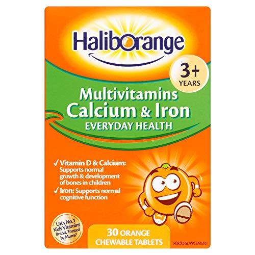 Haliborange Multivitamine Plus Calcium & Eisen Tabs 30 - Multivitamin Plus Eisen