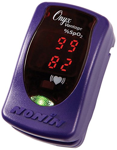 Nonin Onyx Vantage Pulsoximeter, Violett -