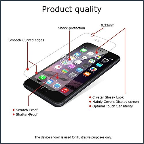 Dashmesh Shopping Anti Explosion Tempered Glass Screen Protector Scratch Guard for ASUS ZENFONE 5