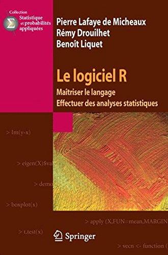 Le logiciel R : Maîtriser le langage, Effectuer des analyses statistiques