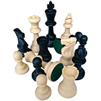 Lion Games & Gifts Europe Plastic Chessmen with King's Height 95 mm