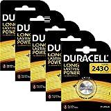 5 DL2430 DURACELL Lithium Batteries CR2430 2430 K2430L
