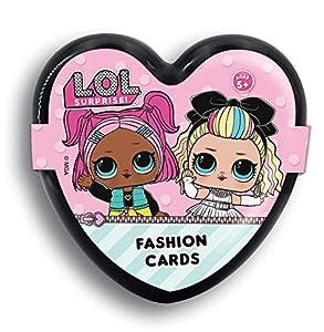 Lisciani LOL Surprise Fashion Cards 73764, Rosa