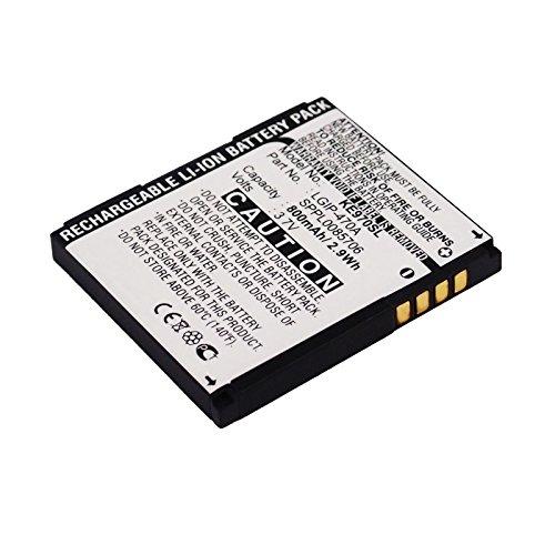 CELLONIC® Premium Akku für LG Shine (KE970) / Venus (KF600) / Secret (KF750) / Shine (KU970) (800mAh) Ersatzakku Batterie Wechselakku