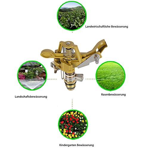 Zoom IMG-5 tutyuity irrigatore da giardino con