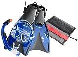 Aqua Lung ABC Tauchset La Costa Proflex Pro 37-40