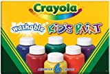 Crayola Washable Kid\'s Paint (6 count) Size: Pack of 1, Model: 54-1204, Toys & Gaems