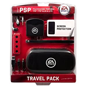 Sony PSP Slim & Lite / PSP 3000 – Travel Pack [black] (EA Sports Edition)
