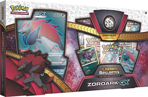 Pokémon- Coffret Collection Légendes Brillantes - Zoroark-GX, POK35ZORGX01, Exclusif