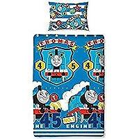 Thomas & Friends Repeat Print Design Patch Duvet Set, Multi-Colour, Single