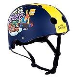 BART SIMPSON / SIMPSONS - Skaterhelm / Fahrradhelm / Multisport Helm - 48-54cm - Mädchen/Jungen