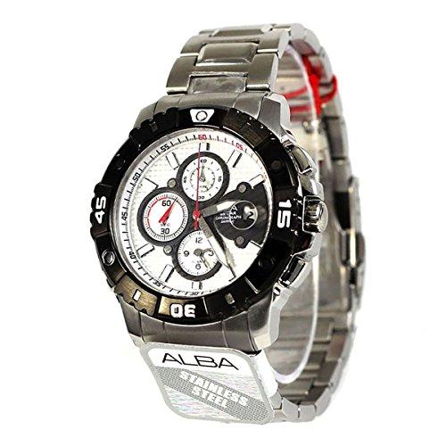 Alba Herren Watch Chronograph Reloj AF3E55X