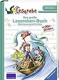 Das große Leseraben-Buch - Abenteuergeschichten: Mit Stickerbogen ABC
