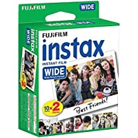 Fujifilm Instax Wide Instant 60 Film for Fuji Instax Wide 210 200 100 300 Instant Photo Camera