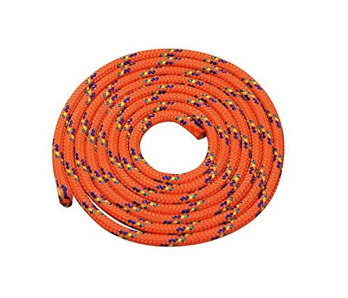 Seilspringen - Springseil 3 Meter - schönes Muster - orange