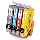 OfficeWorld Replacement for HP 364XL High Yield Compatible Ink Cartridges for HP Photosmart 5510 5511 5512 5514 5515 5520 5522 5524 6510 6520 6512 6515 7510 7520 7515 B8550 B8558 B110c B010a C5370 C5383 C5388 C6324 C6380 D5460 D7560 C310a C410a B209a B210a HP Deskjet 3070A