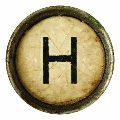 Typewriter Alphabet Letters