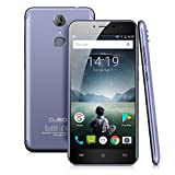 Cubot Note Plus Smartphone 4G Android 7.0, 5.2  FHD Schermo Telefono Cellulari, MTK6737T Quad Core 1.5GHz, 3GB RAM 32GB ROM, 16.0MP+16.0MP Camera, Fingerprint Sensor, Smartphone Dual Sim,WiFi/GPS Cellulare - Blu