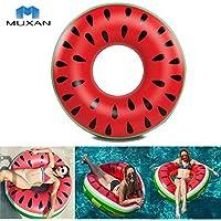 MUXAN Anillo de Natacion Flotante Anillo de natación Piscina Interior Ayuda Flotador Anillo Nadador círculo niños
