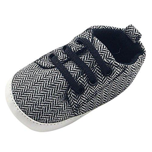 Hankyky Baby Kind Mädchen Junge Anti Skid Weiche Sohle Lauflernschuhe Sneaker Krippeschuhe Kleinkind Schuhe A Canvas 11/Länge:11cm/4.33