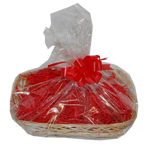 Medium Willow Basket DIY Hamper Kit – Red