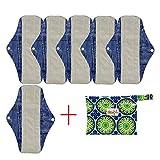 OHBABYKA, wiederverwendbare Damenbinden/Menstruationsbinden aus Bambus-Stoff