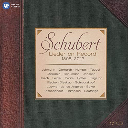 Schubert: Lieder on Record (1898-2012)