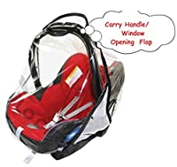 Universal Car Seat Rain Cover To Fit Maxi Cosi Brand & All Other Car Seats VENTILATED