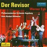 Werner Egk: Der Revisor by Hans Norbert Bihlmaier, Philharmonisches Orchester Augsburg, soloists