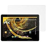 atFolix Schutzfolie für Medion LIFETAB E10604 Displayschutzfolie - 2 x FX-Antireflex blendfreie Folie