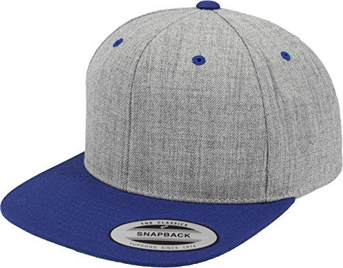 Flex fit - Casquette de Baseball - Homme Taille Unique Taille Unique Varios Colores - Heather/Royal
