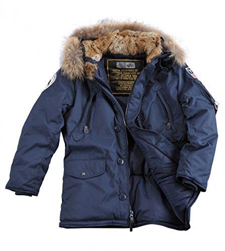 Alpha Industries Jacke Polar Jacket RF rep.blue