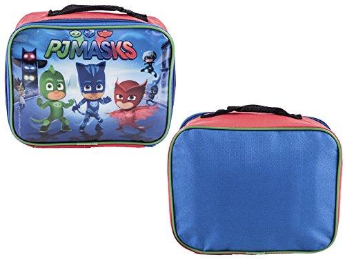 ch Bag Isolierte Folie Cool Bag Jungen Schule Snack Carrier ()