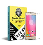 Gorilla guard's Pro quality tempered glass for Lenovo K6 & K6 power with HD+ ultra clear edge to edge 9H hardness, UV protect & anti-smudge technology TEMPERED glass phone protector