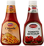 #10: Cremica chipotle Sauce, 380g + Tomato Ketchup 380g Combo Pack