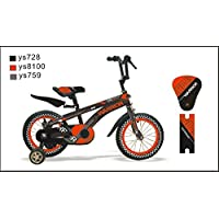 "CTBIKES Warrior Kids Bike BMX Red/Black Available in Size (18"")"