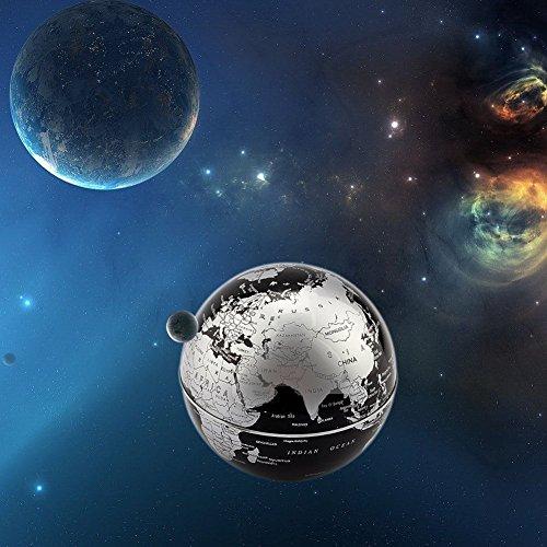 C levitazione magnetica LED Rotating Globe World Map sfera galleggiante Globe Decorazione Della Casa Regali Compleanno Imparare l'istruzione Insegnamento Ufficio - 6