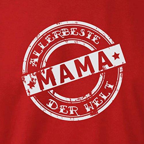 TEXLAB - Allerbeste Mama der Welt - Langarm T-Shirt Marine