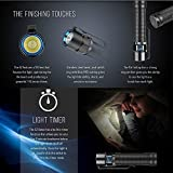 Olight® S2 Baton LED Taschenlampe mit 18650 3400mAh Akku - 6