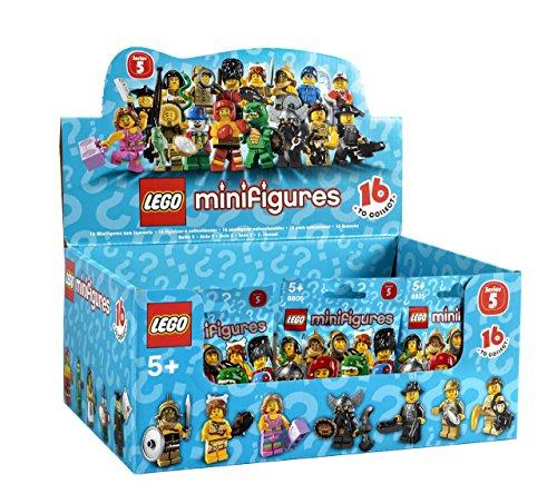 LEGO MINIFIGURES 8805 Minifiguras LEGO 5ª Edición