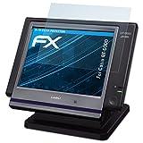 atFoliX Film Protection d'écran pour Casio QT-6000 Protecteur d'écran - 2 x FX-Clear ultra claire Film Protecteur