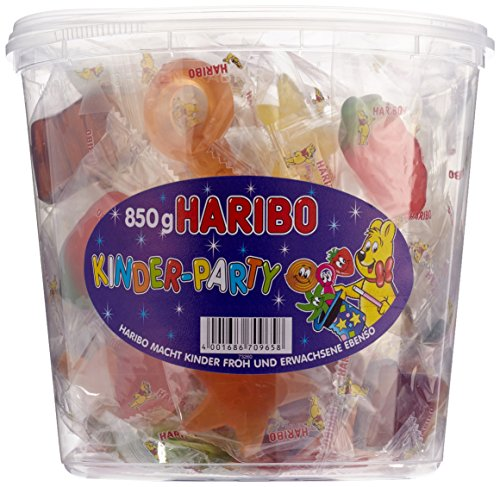 Haribo Kinder-Party verschiedene Minibeutel,1er Pack (1x 850 ()