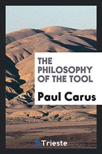 The philosophy of the tool