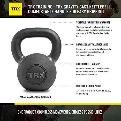 Zoom IMG-1 trx training gravity cast kettlebell
