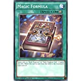 Best single card Card Yugiohs - YuGiOh : YGLD-ENB20 1st Ed Magic Formula Common Review