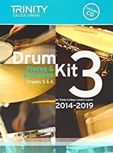 Drum Kit 2014-2019 Book 3 Grades 5 & 6 (With Free Audio CD)