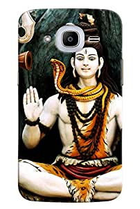 Omnam Lord Shiva In Pose Printed Designer Back Cover Case For Samsung Galaxy J2 2016