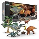 GizmoVine Juguetes de Dinosaurios, Educativo Realista Dinosaurio Jugar Juguetes Animales Acción Figuras Regalos de Cumpleanos para Niños Construcción de Juego (W3D)