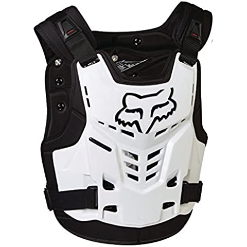 Fox White 2016 Proframe LC Roost Deflector MX Chest Protector by Fox Head